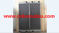WA480 WA470 WA450 wheel loader radiator , 421-03-44180 421-03-44190 421-03-41501