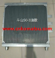 doosan 50 wheel loader oil cooler radiator