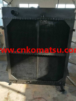 WA600 WA600-3D wheel loader radiator , 426-03-21712 426-03-21711 426-03-21510
