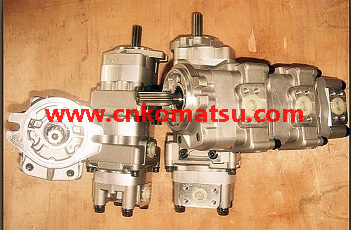WA250 LW250 wheel loader gear pump , 705-51-20240 705-51-30200 705-52-08001